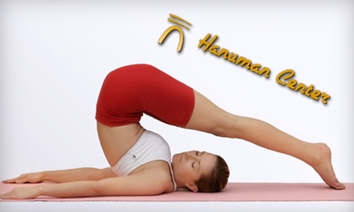 Hanuman Center - Castro: $20 for 20 Yoga and Meditation Classes at the Hanuman Center ($200 Value)