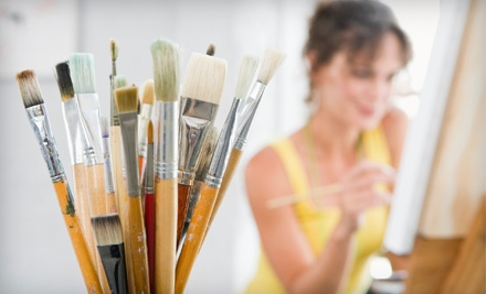 Admission to a BYOB Cocktails & Canvas Class for 1 (a $60 value) - VisArts at Rockville in Rockville