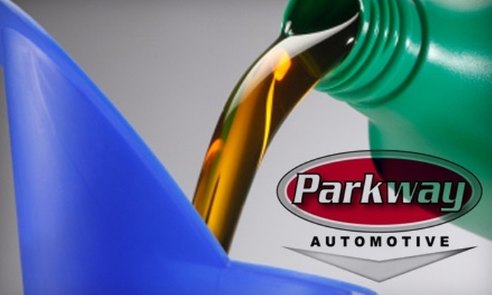 Parkway Automotive - Little Rock: $15 for an Oil Change at Parkway Automotive (Up to $36.27 Value)