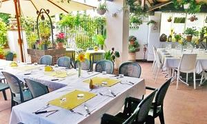 Squisito Naturalmente: Menu di mare con 3 portate di pesce a scelta e vino, vicino Taormina