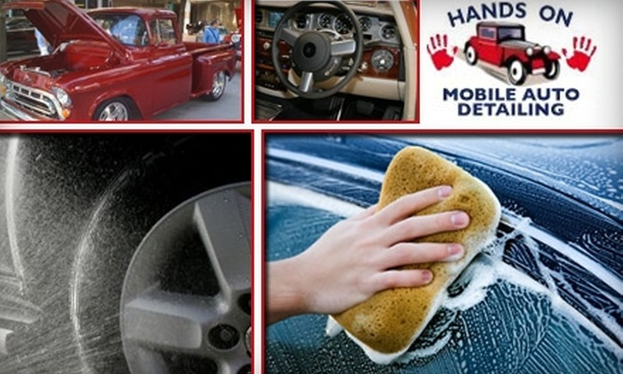 Hands On Mobile Auto Detailing - Bloomfield Hills: Half Off a Carwash at Hands On Auto Detailing. Choose from Two Options.