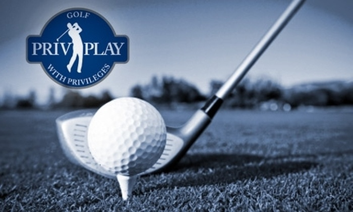 Privileged Play: $44 for a One-Year Privileged Play Premium Golf Membership