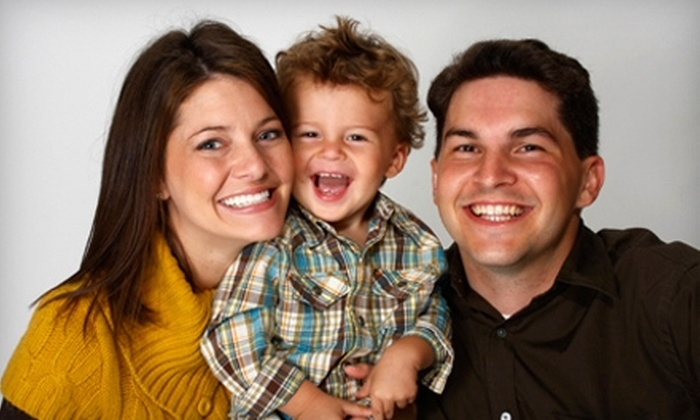 Sears Portrait Studio - Multiple Locations: $50 for Studio Package at Sears Portrait Studio ($244.90 Value)
