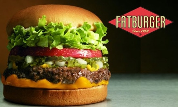 Fatburger - Multiple Locations: $10 for $21 Worth of Beefy Eats, Signature Shakes, and Homemade Sides at Fatburger