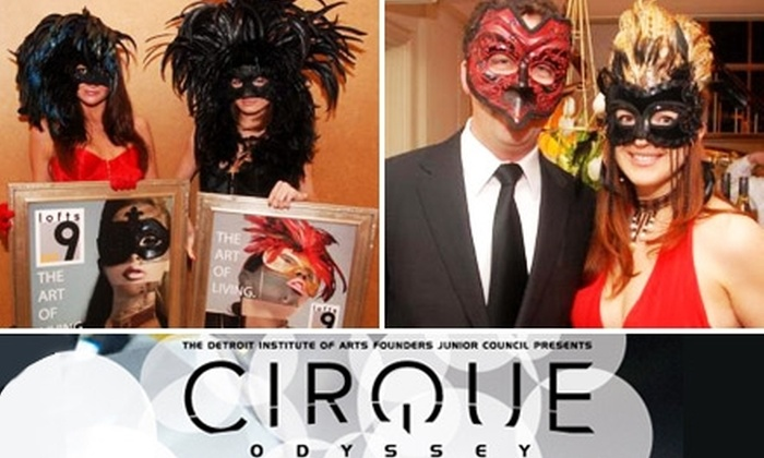 Detroit Institute of Arts - University: $25 for One Ticket to Cirque Odyssey Late-Night Party on May 15 at 10 p.m. for Detroit Institute of Arts ($50 Value)