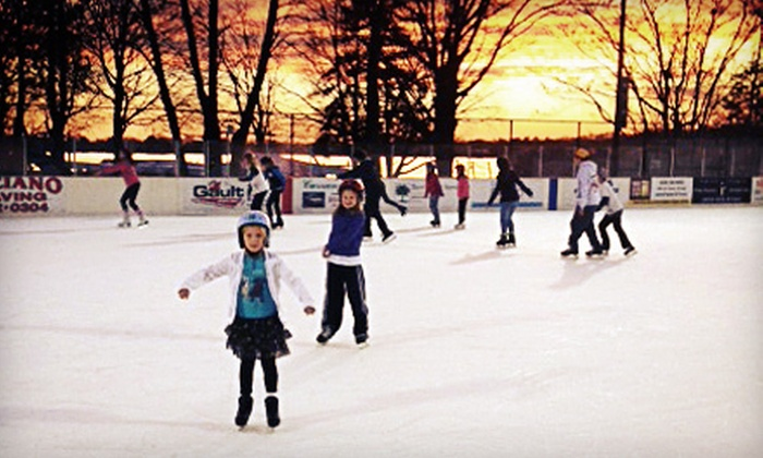Westport PAL Rink at Longshore - Westport: Ice Skating for Two or Four with Skate Rental at Westport PAL Rink at Longshore (Up to 52% Off)