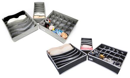 1x oder 2x 3 teiliges Periea Schrank Organizer Set in der Farbe nach Wahl
