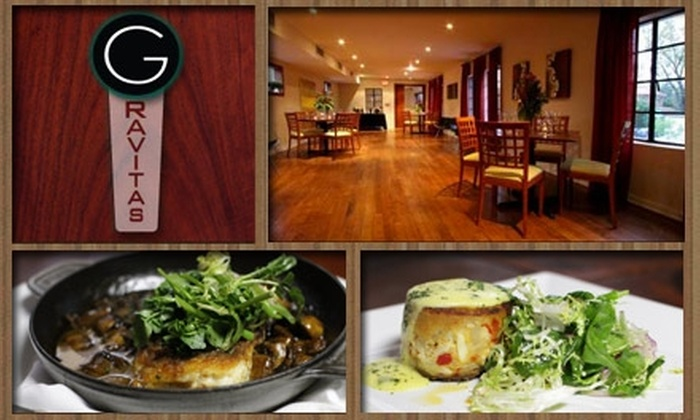 Gravitas - Fourth Ward: $30 for a Three-Course Prix Fixe Dinner at Gravitas (Up to $60 Value)