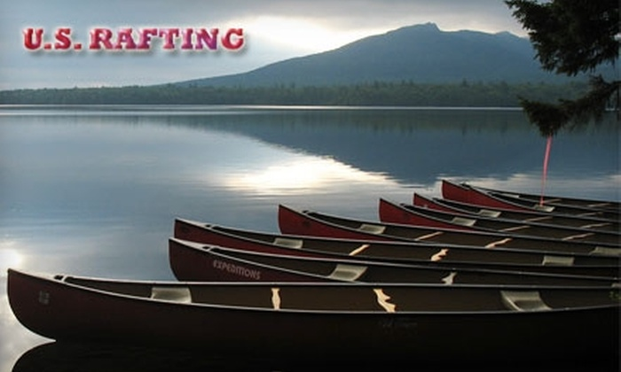 U.S. Rafting - West Forks: $25 for an Eight-Hour Canoe Rental from U.S. Rafting in The Forks, Maine ($50 Value)