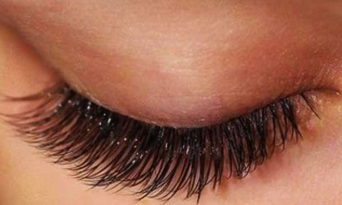 Modern Nails & Lashes - Natural Lashes and Face: Eyelash Extensions at Natural Lashes and Face (Up to 67% Off). Two Options Available.