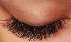 Modern Nails & Lashes: Eyelash Extensions at Natural Lashes and Face (Up to 67% Off). Two Options Available.