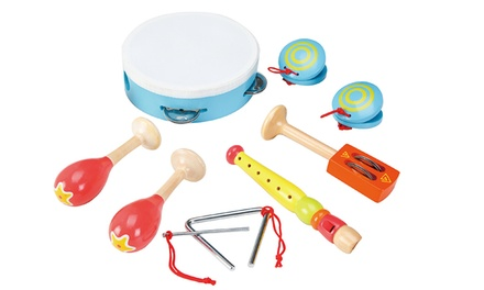 Lelin Wooden Musical Playset