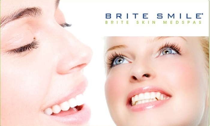BriteSmile - Great Uptown: $185 Teeth Whitening at BriteSmile ($600 Value)