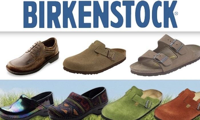Birkenstock - Philadelphia: $30 for $60 Worth of Supportive Sandals, Clogs, and More at Steppin' Birkenstock Shoes