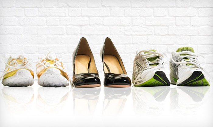 Brown's Shoe Fit Company - Southwest Topeka: $20 for $40 Worth of Men's and Women's Shoes and Sandals at Brown's Shoe Fit Company