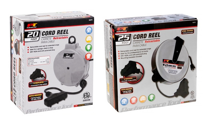 Retractable Cord Reels