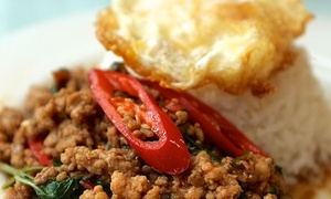 @Chilli Thai Bistro: $11 for $20 Worth of Thai Food for Two or More at @Chilli Thai Bistro