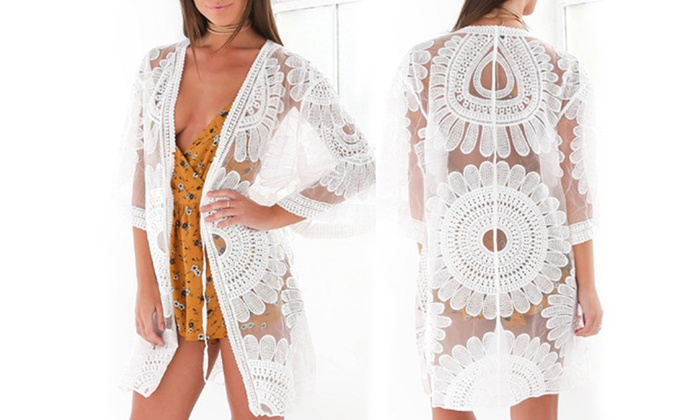Sunflower Cover-Up