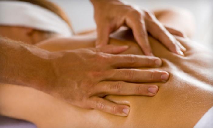 SandiLeon Salon & Spa - Eastern Shores: $39 for a 50-Minute Deep-Tissue Massage at SandiLeon Salon & Spa in North Miami ($80 Value)