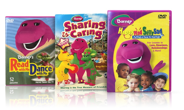 Gallery For Gt Barney Dvd Set