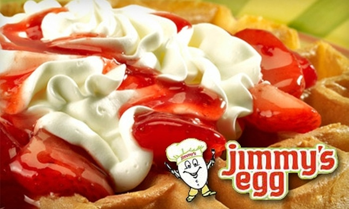 Jimmy's Egg - Multiple Locations: $5 for $10 Worth of Breakfast, Lunch, and More at Jimmy's Egg
