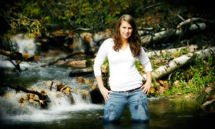 Fitzgerald Photography - Eagle River Heights East: $60 for Senior Picture Session or Engagement Photography Session with Prints at Fitzgerald Photography (Up to $179 Value)