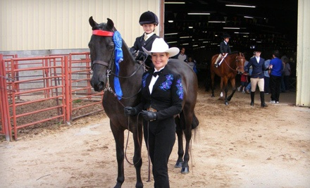 30-Minute Private Lesson (a $30 value) - Cottonwood Creek Ranch, LLC in Guthrie