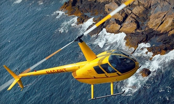 East Coast Aero Club - Lincoln: $99 for Helicopter Lesson or Demo Flight from East Coast Aero Club in Bedford (Up to $297 Value)
