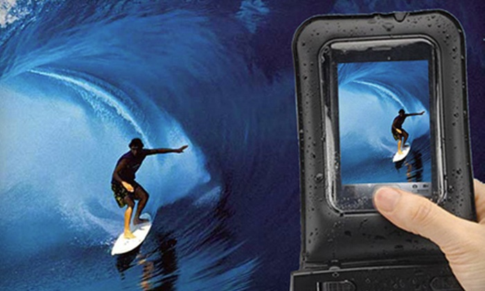 Underwater Smartphone Case: $15 for an Aqua Skin Universal Underwater Smartphone Case ($59.99 Value). Shipping Included.