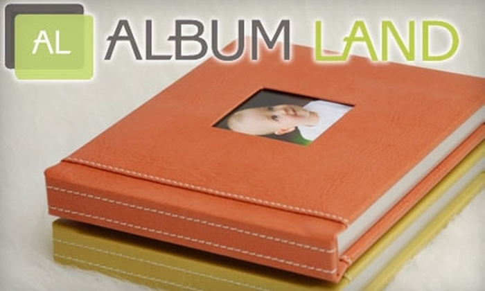 AlbumLand: $99 for $200 Worth of Customized Photo Albums from AlbumLand