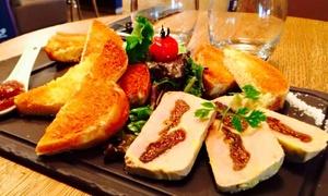 Bistro de la porte: Entrée, plat et dessert à la carte pour 2 personnes dès 39,90 € au Bistro de la porte