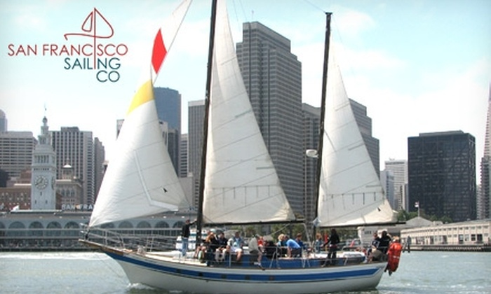 San Francisco Sailing Company  - North Beach: $28 for a Two-Hour Mimosa or Champagne Sailing Cruise with the San Francisco Sailing Co.