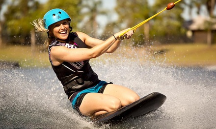 Wakeboarding or Kneeboarding: 1 ($24) 2 ($29) or 4 Hrs ($34), or Full Day ($39) at Cables Wake Park (Up to $79 Value)