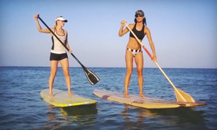 Paddle Board RI - South Kingstown: Two-Hour Standup-Paddleboard Tour for Two or Private Tour for Up to Six from Paddle Board RI (Up to 56% Off)