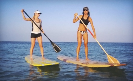 Choice of a Two-Hour Standup-Paddleboard Tour for Two (a $120 value) - Paddle Board RI in Matunuck