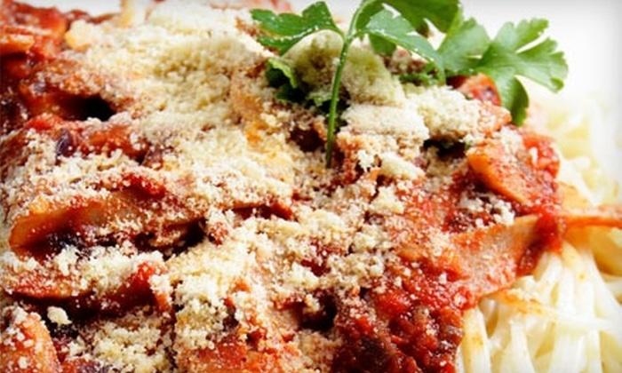 Savelli's Italian Restaurant - Knoxville: $15 for $30 Worth of Hearty Italian Fare at Savelli's Italian Restaurant
