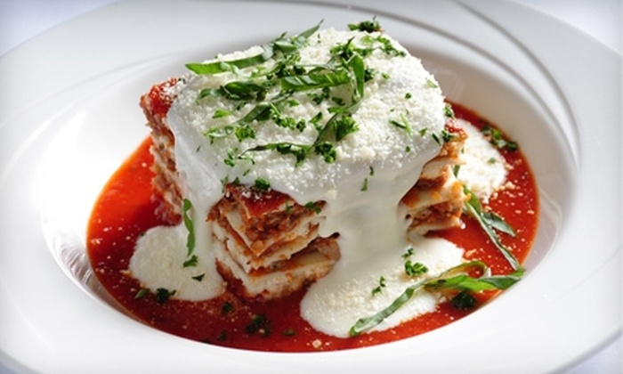 Mike & Charlie's Italian Restaurant - North Kansas City: $20 for $40 Worth of Upscale Italian Cuisine and Drinks at Mike & Charlie's Italian Restaurant