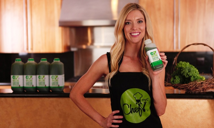 Chef V: Three-, Five-, or Seven-Day Juice Cleanse with Free Delivery from Chef V (Up to 54% Off )