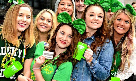 Entry for One or Two to The Shamrock Crawl 2019 on Saturday, March 16 (Up to 19% Off)
