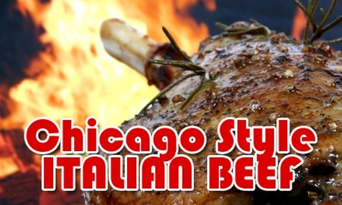 Chicago Style Italian Beef - Nashville-Davidson metropolitan government (balance): $10 for $20 Worth of Food and Drink at Chicago Style Italian Beef