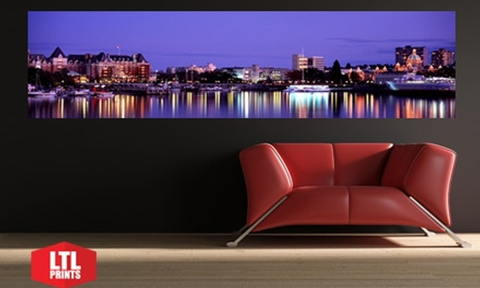 """Larger Than Life Prints: $35 for a """"Big Wall Graphic"""" Panoramic Wall Mural from Larger Than Life Prints ($86 Value)"""