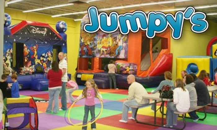 Jumpy's Inflatable Party Arena - Troy: Active-Play Attractions at Jumpy's Inflatable Party Arena. Choose from Three Options.