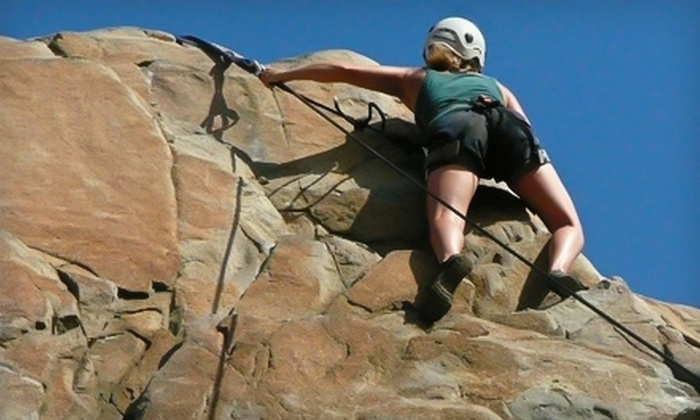 The Southern Terrain - Multiple Locations: $55 for One Outdoor Rock-Climbing Session from The Southern Terrain ($125 Value)