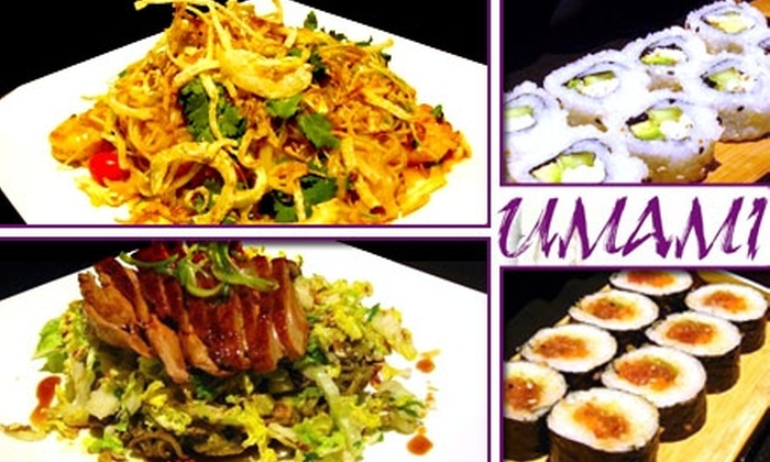 Umami Asian Kitchen - Chagrin Falls: $45 Worth of Japanese Cuisine from Umami Asian Kitchen