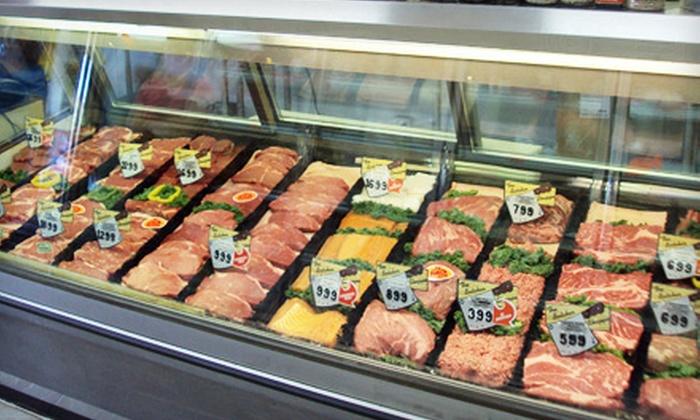 Hobe Meats - Phoenix: $15 for $30 Worth of Black Angus Beef Patties at Hobe Meats