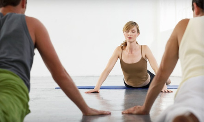 the Studio - Troy: Four Weeks of Up to 12 Yoga Sessions or Eight Fitness Classes of Your Choice at the Studio