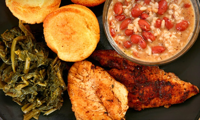 Negril Caribbean Cafe - Downtown: Authentic Caribbean Dinner or Lunch Fare at Negril Caribbean Cafe