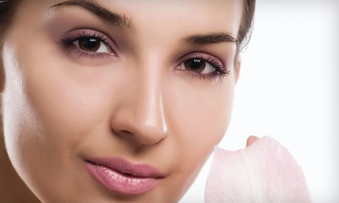 Savarna Threading & Beauty Studio - Multiple Locations: Eyebrow and Upper-lip Threading or Henna-Tattoo Services at Savarna Threading & Beauty Studio