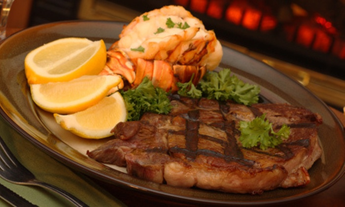 New York Steak & Seafood: Fresh Steak and Seafood from New York Steak & Seafood (Up to 55% Off). Two Options Available.