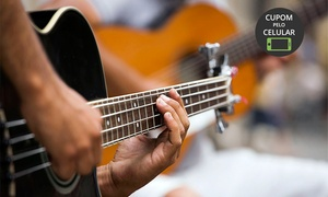 Estúdio Liverpool: Estúdio Liverpool – Lauzane Paulista: 1, 3 ou 6 meses de aulas de canto ou instrumentos